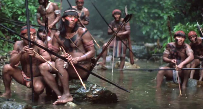 """the mission movie essay The mission essay example - """"the mission"""" is a motion picture, directed by roland joffe in 1986, about a jesuit mission that is threatened by greed and imperialism in the late 18th century in the brazilian jungle father gabriel, played by jeremy irons, climbs the mountains of brazil to bring christianity to the natives."""