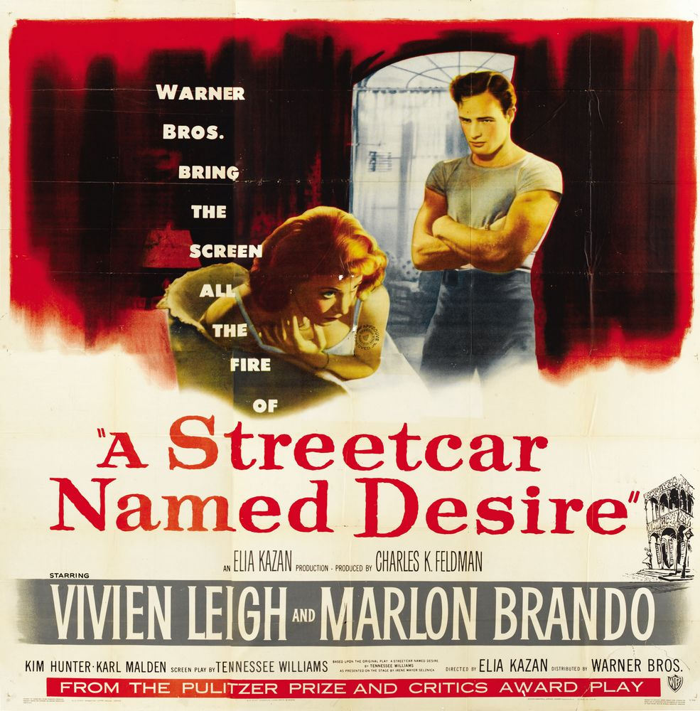 an anaysis on a streetcar named A streetcar named desire in order to first, evince dominance within both female  characters, and second  4 visual analysis of the streetcar named desire.