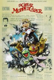 THE GREAT MUPPET CAPER MOVIE POSTER