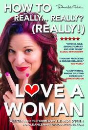 how to really really really love a woman flyer